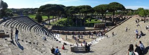 Theater-Ostia Antica - 5 Ancient Sites in Italy That's Not Pompeii