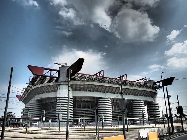 San Siro Stadium, Milan, Italy
