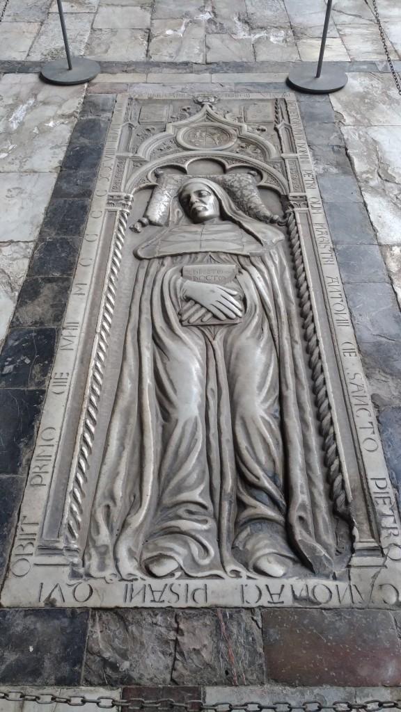 Camposanto Monumentale tombstone Pisa