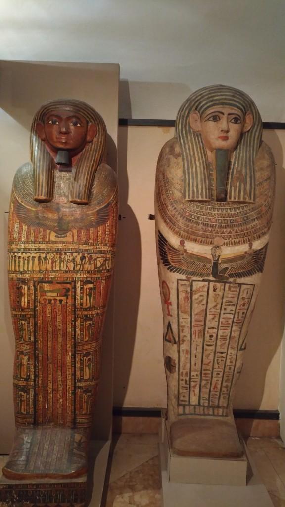 Coffins at Bologna Museo Civico Archeologico