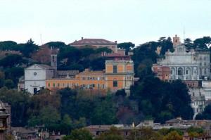 Gianicolo Hill Janiculum in Rome