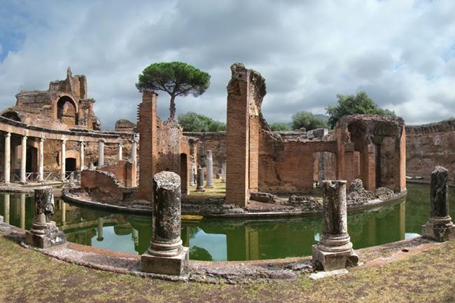 Hadrian's Villa in Tivoli, Rome