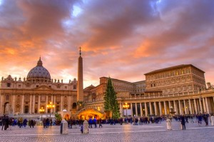 Saint Peters square - Vatican City