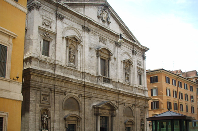 San Luigi dei Francesi Church in Rome