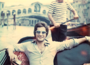 Dad in Venice in the 70's