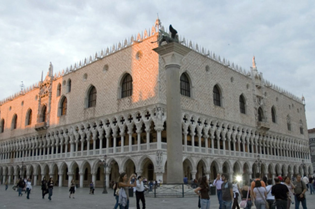 Palazzo Ducale Doge Palace in Venice, Italy