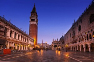 Piazza San Marco or St. Mark's Square in Venice