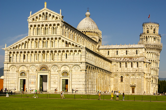 Pisa Cathedral Square Duomo, Italy