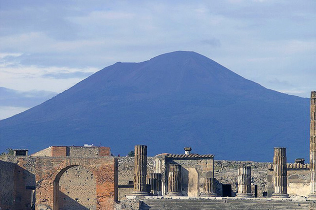 Pompeii and Vesuvius, Italy