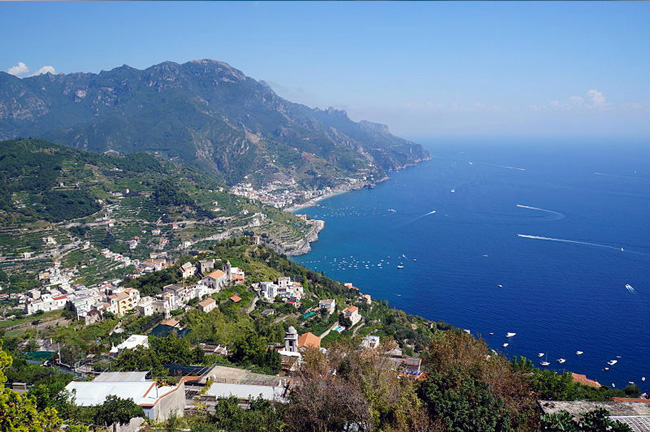 Ravello in Amalfi Coast, Italy