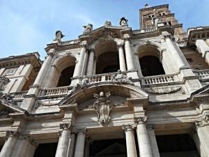 Basilica di Santa Maria Maggiore Rome facade