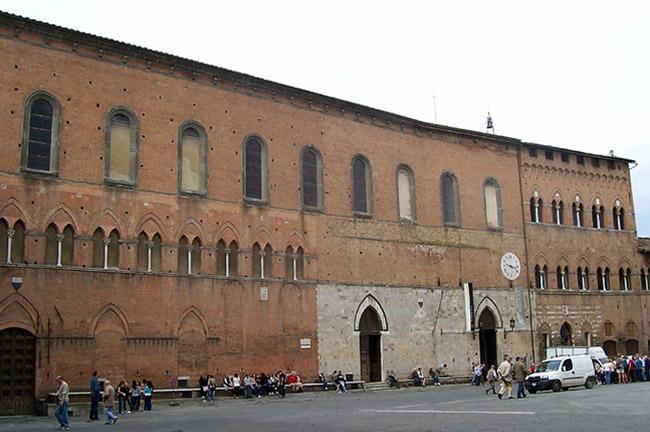 Santa Maria Della Scala Hospital in Siena