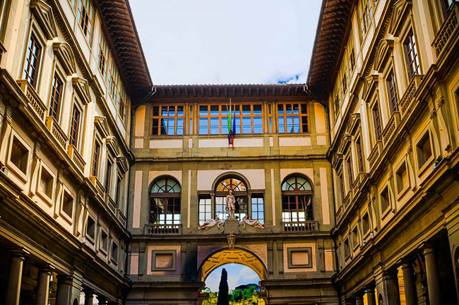 Uffizi Gallery Museum Florence