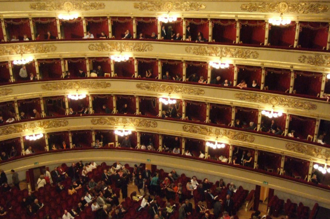 La Scala Theater in Milan