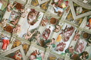 Sistine Chapel in Vatican City, Rome