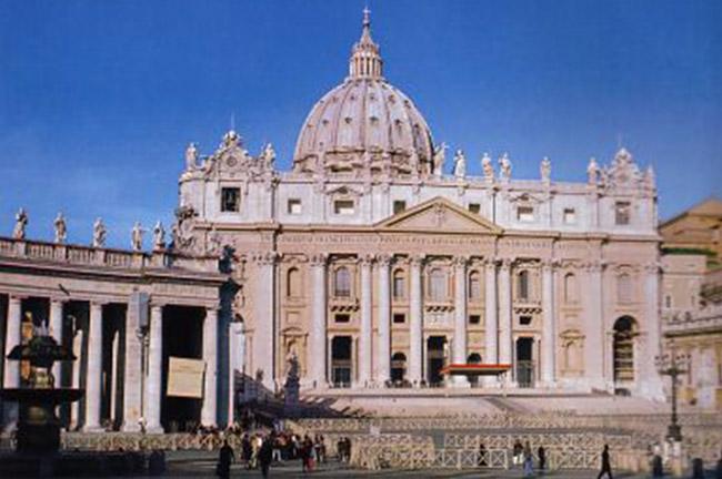 St. Peter's Basilica di San Pietro in Vatican City Rome