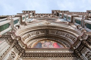 Facade of the Duomo di Firenze - Florence Cathedral