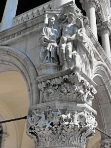 Doge's Palace Statues - Venice