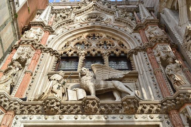 Doge's Palace - Venetian Lion