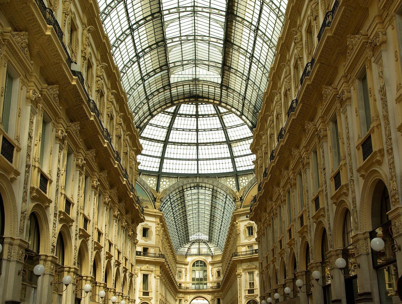 Milan Galleria Vittorio Emmanuele II
