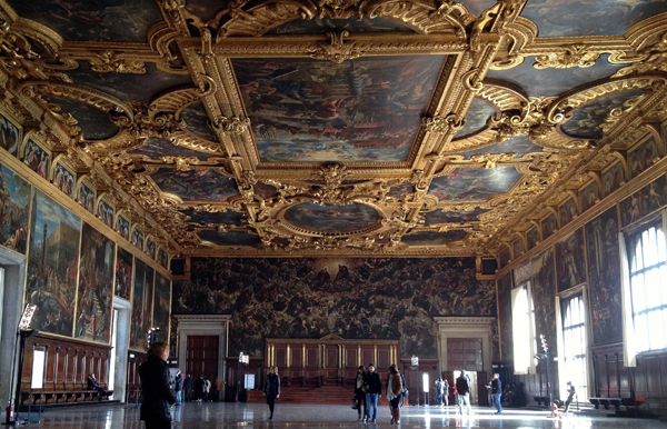 Palazzo Ducale - Doge's Palace - Interiors - Venice