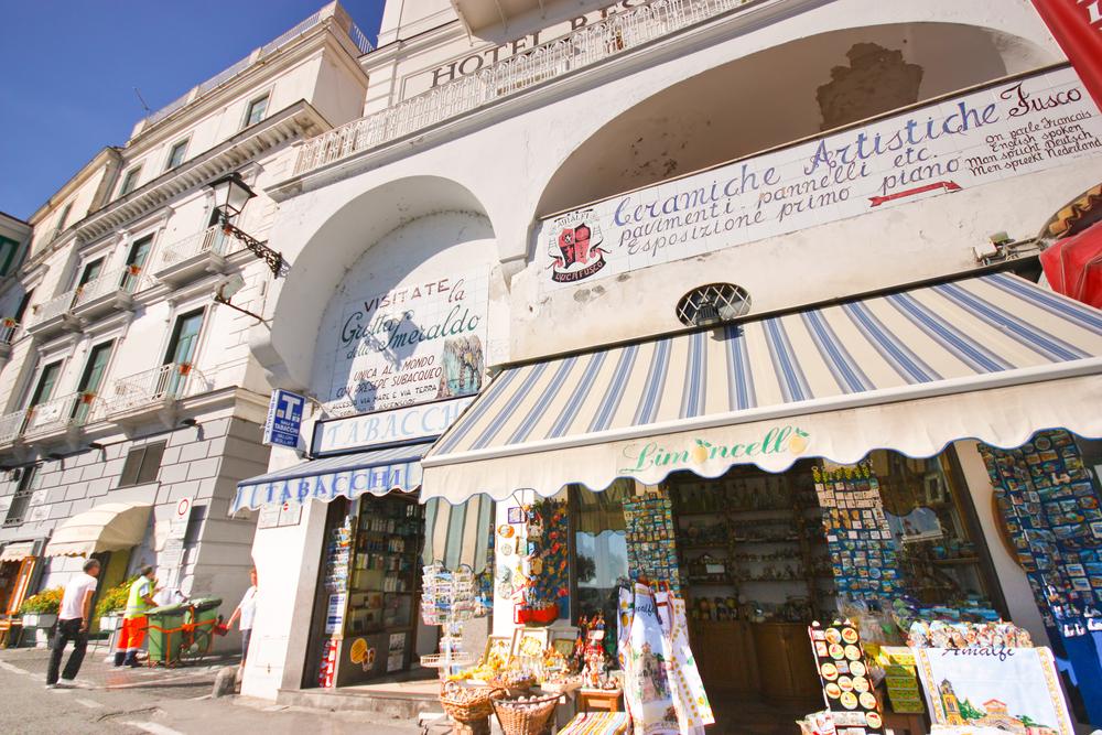 Street in Amalfi Town
