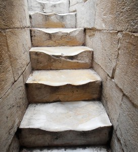 Stairs in the Tower of Pisa