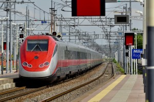 European Fast Train in Italy - Commuting