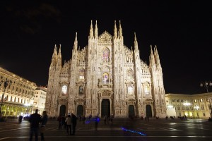 Milan Cathedral at Night