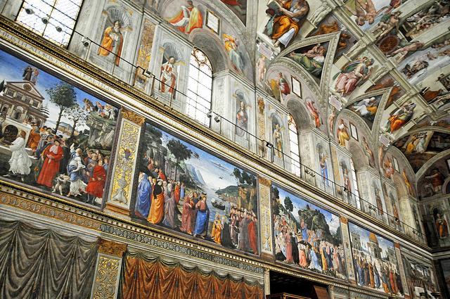 Sistine Chapel Interiors