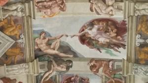 Sistine Chapel - The Creation of Man