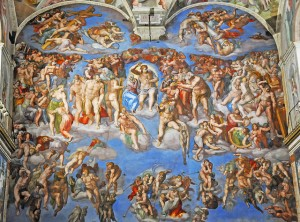 The Last Judgement - Michelangelo