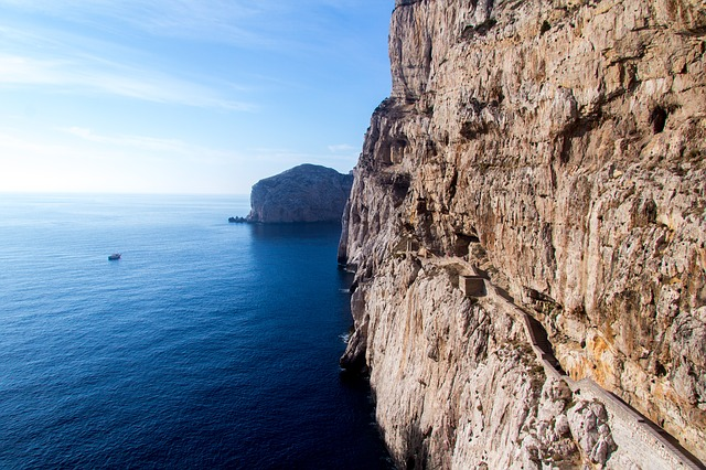 Cliffs of Sardinia