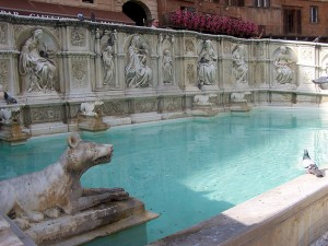 Fonte Gaia - Piazza del Campo - Siena, Italy