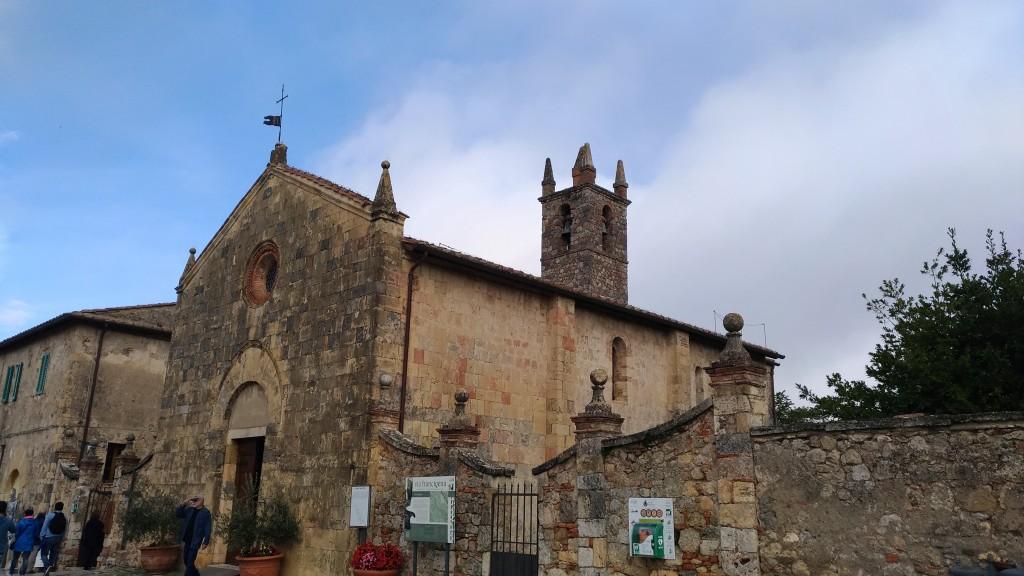 Chiesa di Santa Maria Monteriggioni