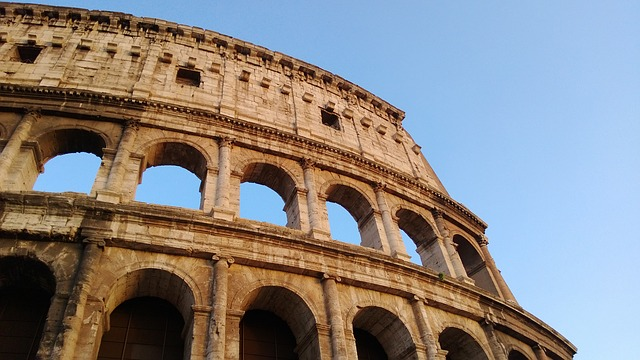 the colosseum side