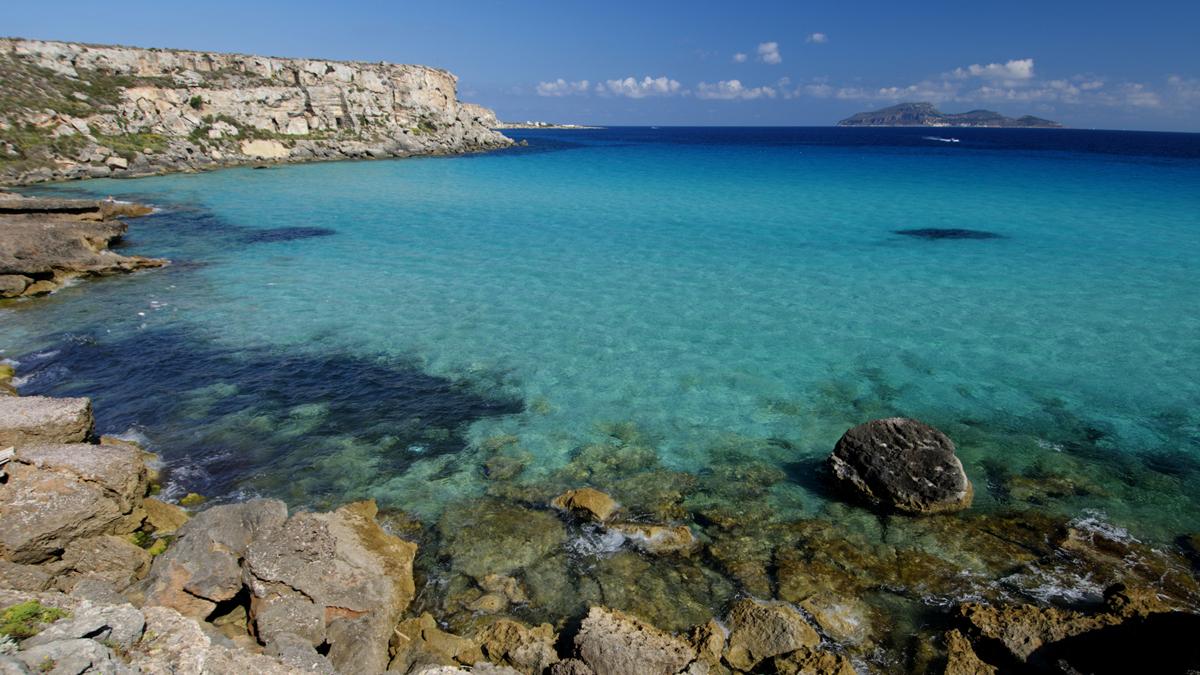 Isole Egadi Sicily