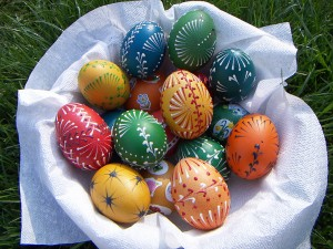 Easter Eggs during Pasquetta